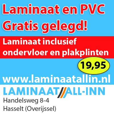 Laminaat aanbieding.  Laminaat gratis gelegd, alufoam ondervloer en plakplinten Nu € 19,95 All-In Inclusief btw. Wij leggen door heel Nederland
